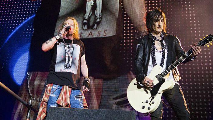 """RICHARD FORTUS """"Guns N Roses pueden tener nueva música este año""""."""