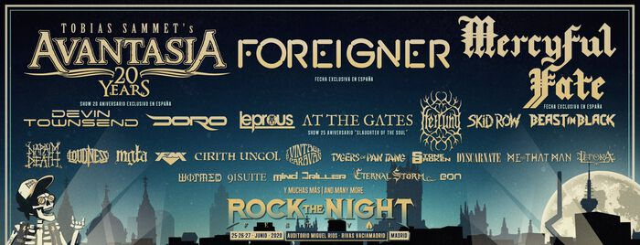 Rock The Night Festival anuncia nuevas bandas.