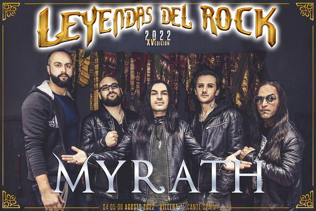 Myrath se suma al cartel de Leyendas del Rock 2022