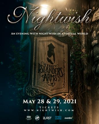 PRIMEROS CONCIERTOS DE NIGHTWISH EN STREAMING. 28/29 MAYO.