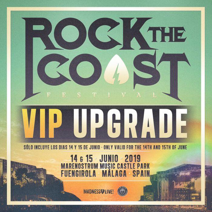 ROCK THE COAST. VIP UPGRADE. PRECIOS Y SERVICIOS