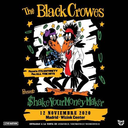 THE BLACK CROWES fecha única en Madrid.