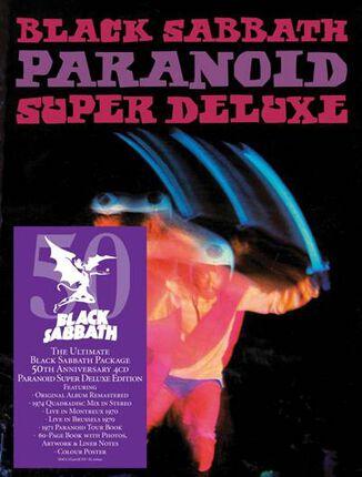 'PARANOID – 50 ANIVERSARIO' SUPER DELUXE EDITION – FORMATO 4CDs o 5 VINILOS