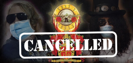 GUNS N ROSES cancela gira europea.