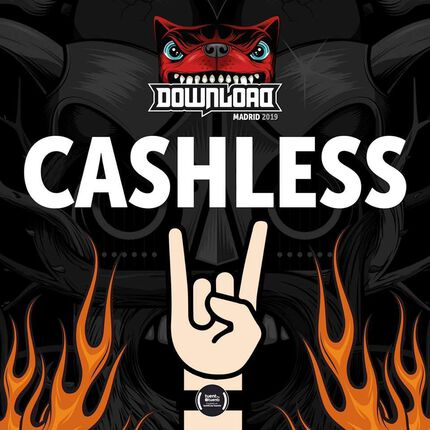 CASHLESS para el DOWNLOAD FESTIVAL MADRID.