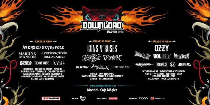 El campanazo del Download Festival en Madrid