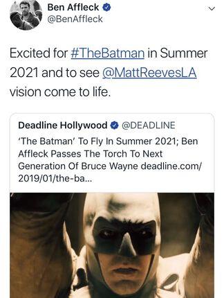 Ben Affleck cuelga el traje de Batman, ¡el actor no estará en la nueva película del superhéroe!