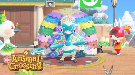 El Carnaval llega a 'Animal Crossing' en una nueva actualización