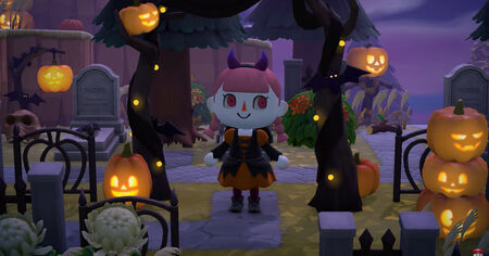 'Animal Crossing: New Horizons' se prepara para Halloween