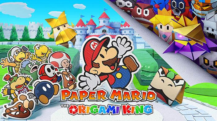 Nintendo anuncia oficialmente 'Paper Mario: The Origami King'
