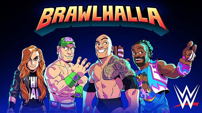 El free-to-play 'Brawlhalla' añade nuevos personajes de WWE