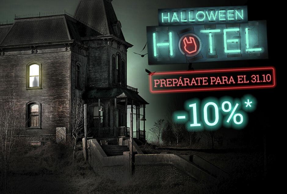 10% dto en artículos de Halloween