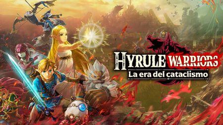 Llega el tráiler de lanzamiento de 'Hyrule Warriors: La era del cataclismo'