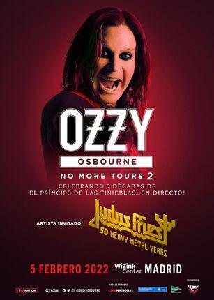 OZZY OSBOURNE + JUDAS PRIEST. Nueva fecha en 2022.