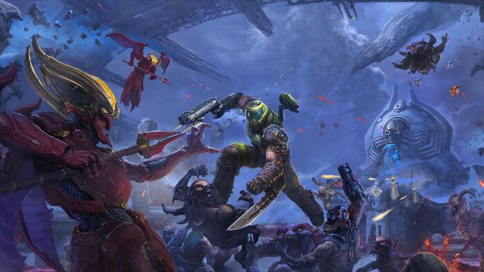 Disponible el DLC 'Los Dioses Antiguos Primera Parte' para 'Doom Eternal'