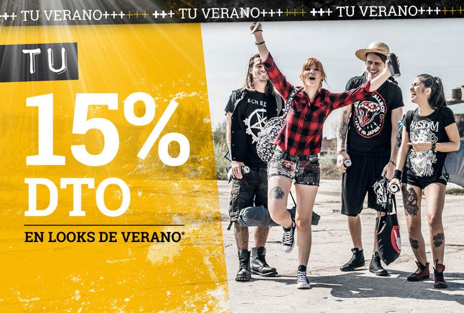 TU 15% dto en looks de verano