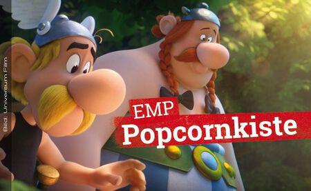 Die EMP Popcornkiste vom 14. März 2019 mit ASTERIX UND DAS GEHEIMNIS DES ZAUBERTRANKS u. a.