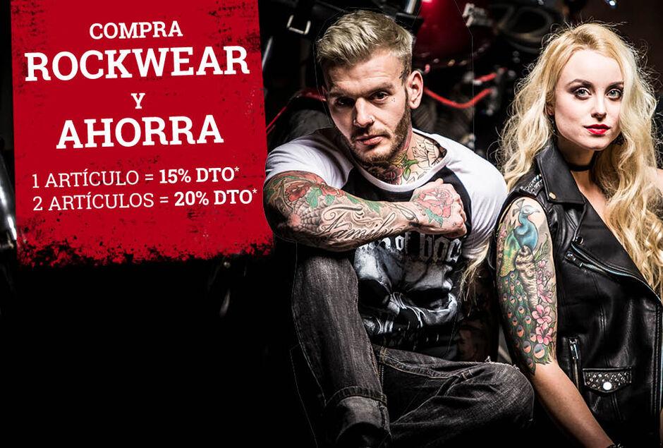 Compra ROCKWEAR y AHORRA