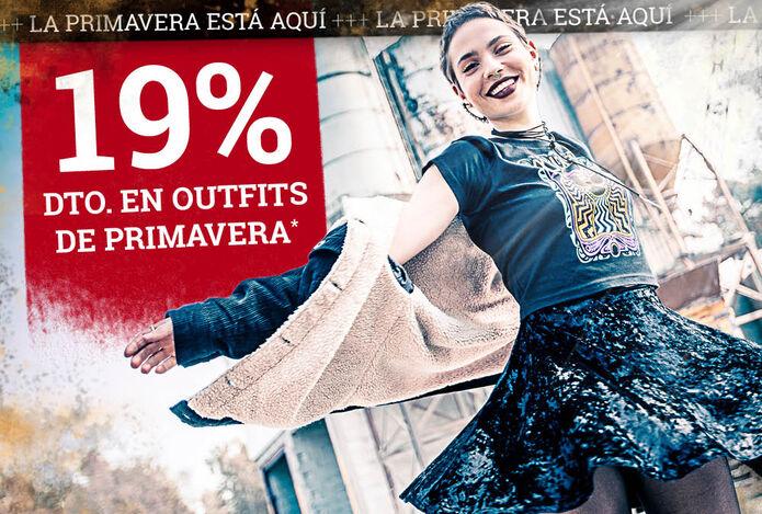 ¡19% dto. en outfits de primavera!