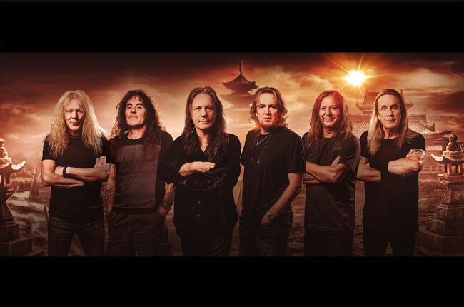 Iron Maiden llega al #3 en las listas de éxitos en Billboard 200 con 'Senjutsu'