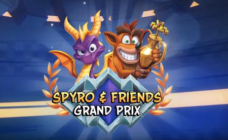 El Grand Prix Spyro & Friends llega a 'Crash Team Racing Nitro-Fueled'