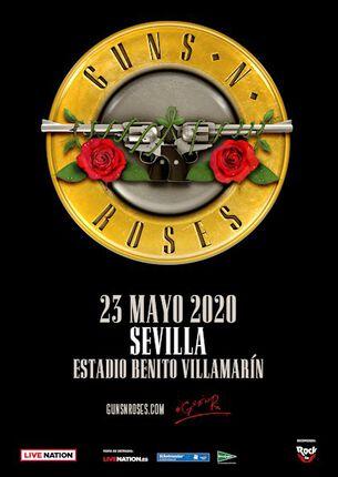 GUNS N ROSES. Precios para Sevilla desde 45€ a 1000€ más gastos.
