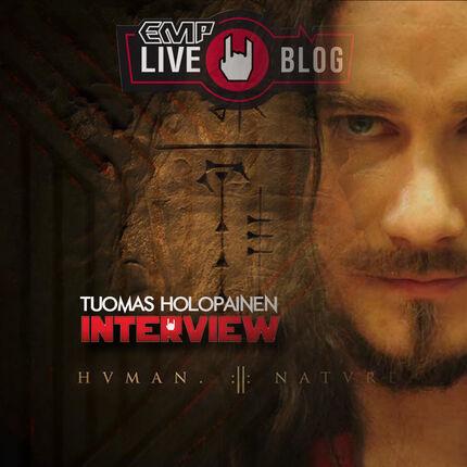 """TUOMAS -NIGHTWISH- """"Es un disco pensado para los vocalistas de Nightwish""""."""