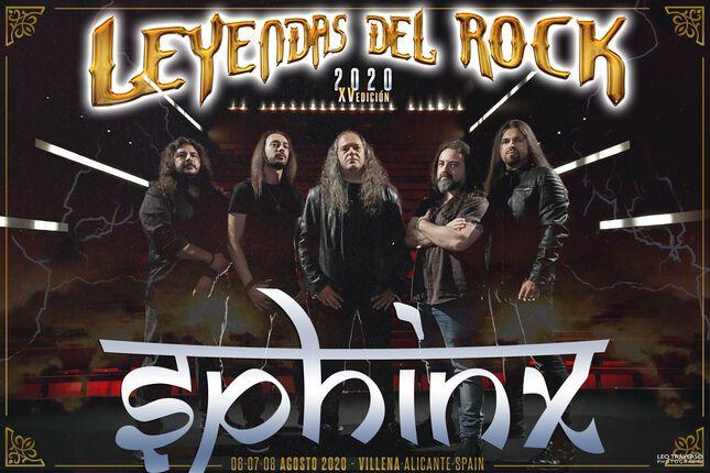 La vuelta de Sphinx, en Leyendas del Rock 2020