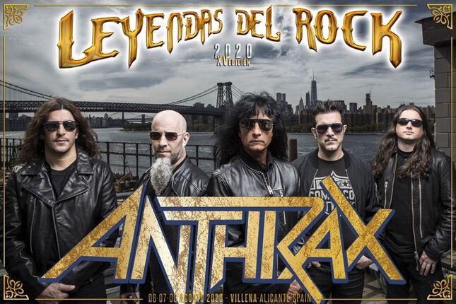"""ANTHRAX """"El próximo disco será extraño y furioso a la vez""""."""