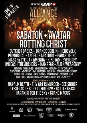 European Metal Festival Alliance. ¿TE GUSTARIA IR A 13 FESTIVALES EUROPEOS GRATIS?