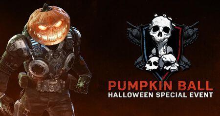 Disponible el evento multijugador 'Pumpkin Ball' en 'Gears 5'
