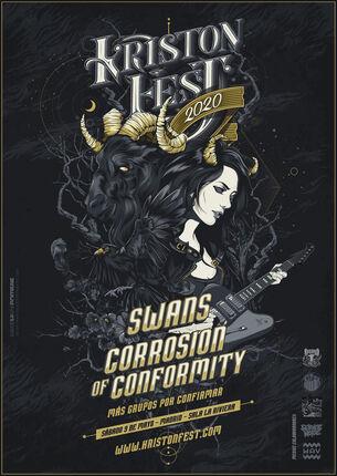 KRISTONFEST: SWANS y CORROSION OF CONFORMITY confirmados!.