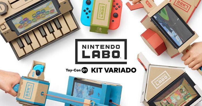 Anunciado un Nintendo Labo basado en 'Pokémon Quest'