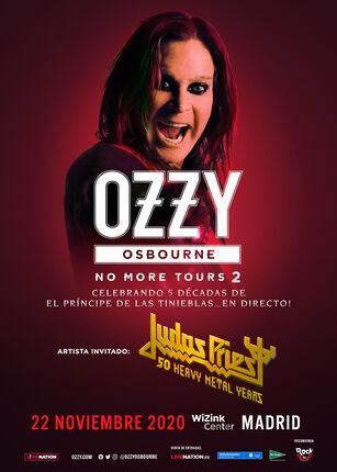 "OZZY OSBOURNE anuncia las fechas reprogramadas para el 2020 de su gira ""NO MORE TOURS 2"""