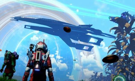 Desvelado un crossover entre 'No Man's Sky' y 'Mass Effect'