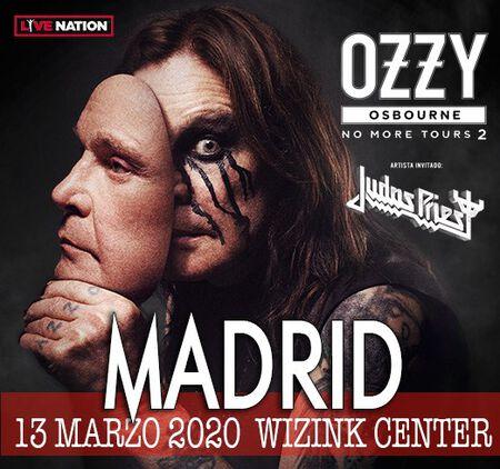 OZZY OSBOURNE + JUDAS PRIEST 13 MARZO MADRID WIZINK CENTER