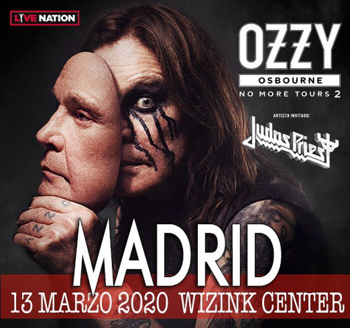 OZZY OSBOURNE + JUDAS PRIEST 13 MARZO MADRID WIZINK CENTER