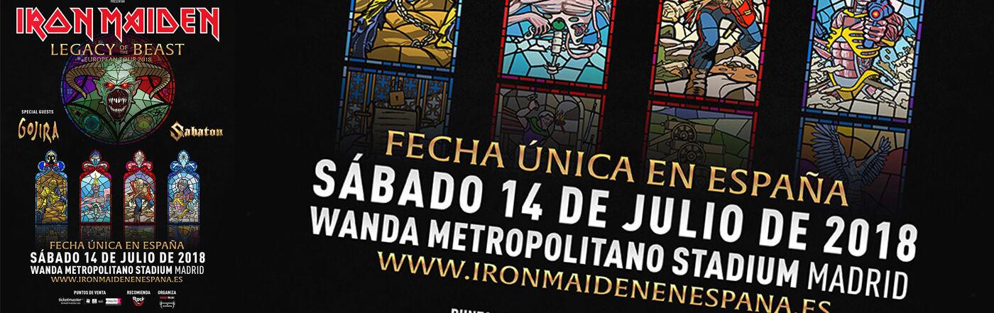 Iron Maiden 14 Julio (Madrid)