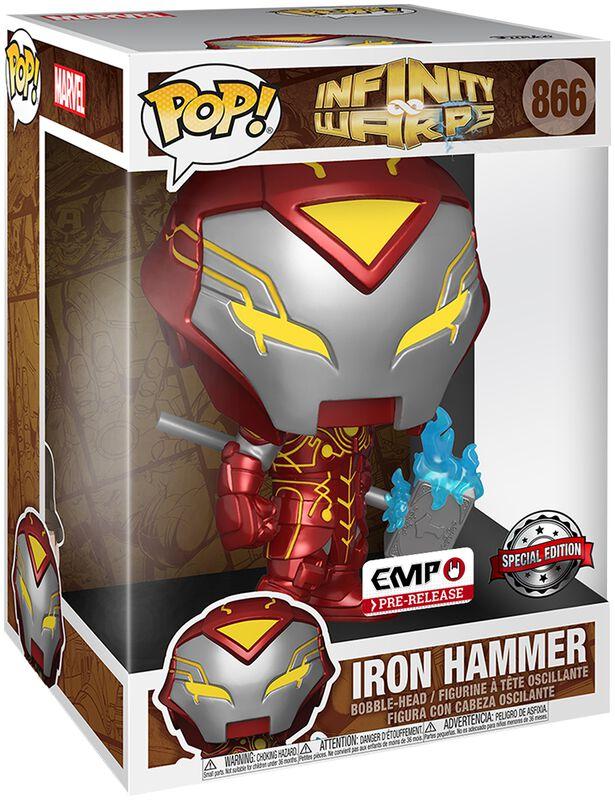 Figura vinilo Infinity Warps - Iron Hammer (Pop! Jumbo) 866