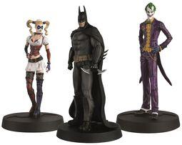 Batman Askham Asylum Hero Collection (3 Figuras)
