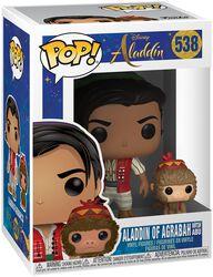 Figura Vinilo Aladdin of Agrabah with Abu 538