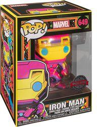 Figura vinilo Black Light - Iron Man 649