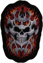 Tribal Skull In Flames