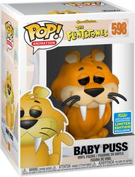 The Flintstones Figura Vinilo SDCC 2019 - Baby Puss (Funko Shop Europe) 598
