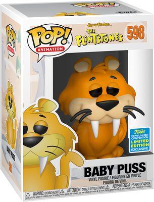 The Flintstones Figura Vinilo SDCC 2019 - Baby Puss (Funko Shop Europe) 598