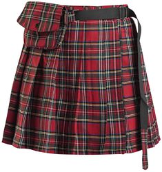 Check It Out Skirt Hearts