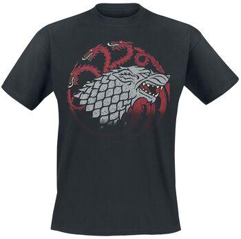 Stark And Targaryen Sigils