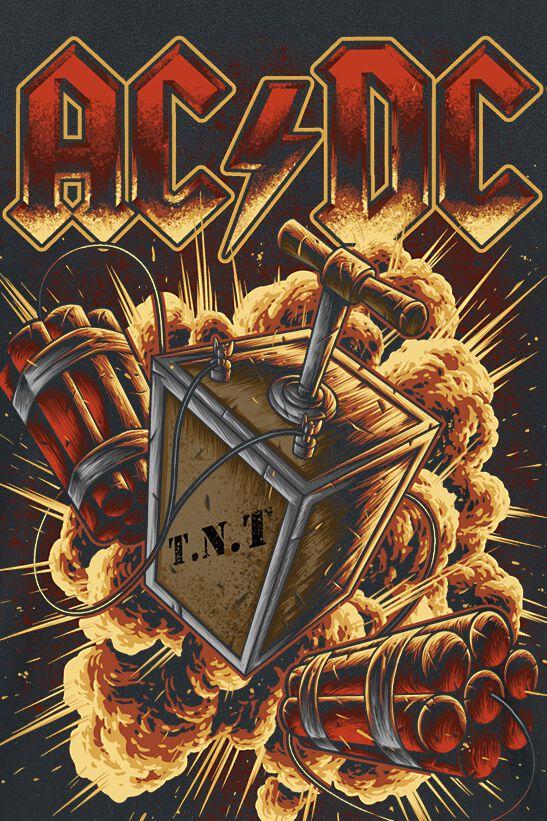 TNT Explosion | AC/DC Camiseta | EMP