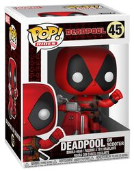 Figura Vinilo Deadpool on Scooter  45