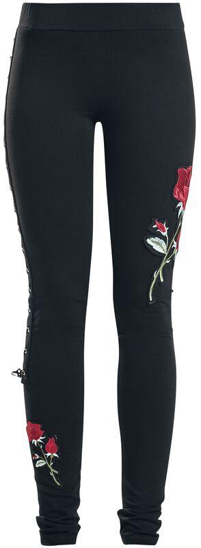 Rose Corset Legging